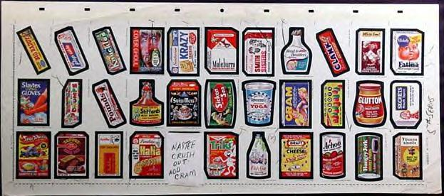 5th lost wackys wacky packages