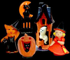 collectors guide to antique halloween decorations - Antique Halloween Decorations