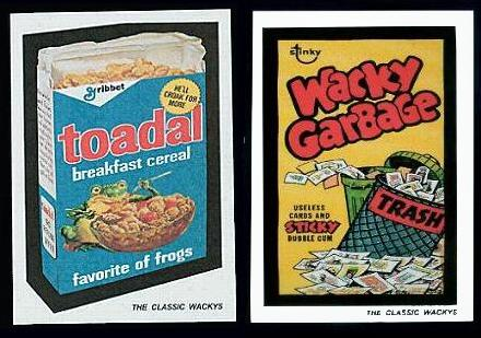 Wacky Packages Posters