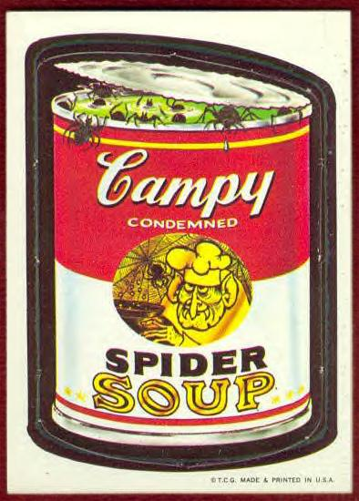 campy spider soup