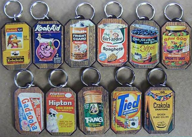 wacky packages key chains