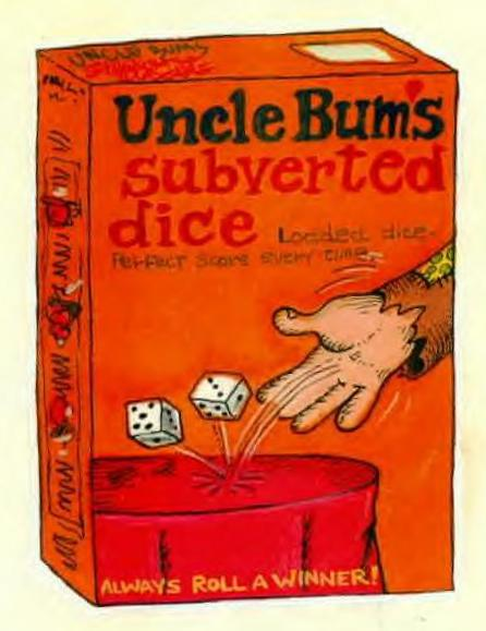 uncle bum's dice