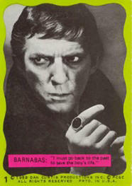 Dark Shadows monster cards.