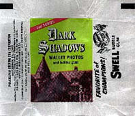 Dark Shadows monster cards wrapper.