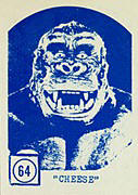 Monster cards. King Kong.