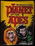 Planet of the Apes wax pack.