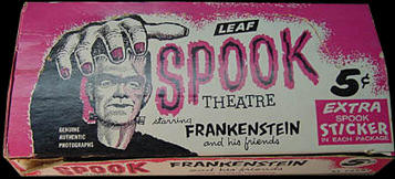 Spook stories 1 box. Spook theatre.