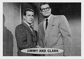 Superman trading cards. Clark Kent and Jimmy Olson.