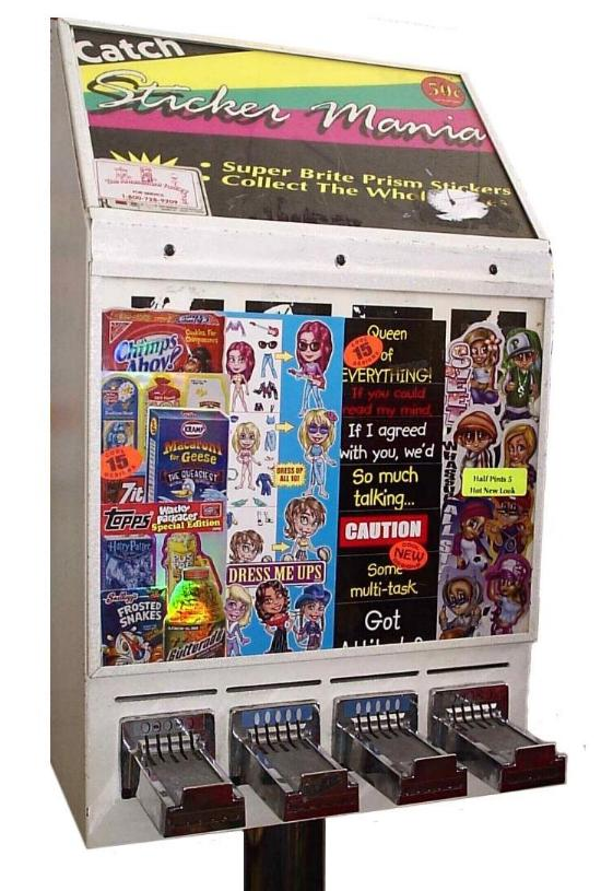 wps vending machine