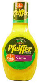 Pfeiffer Caesar Salad Dressing, 8 fl oz