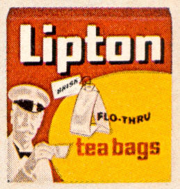 hipton tea bags wacky packages 4th series 1973