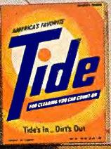 Tide's in, Dirt's out