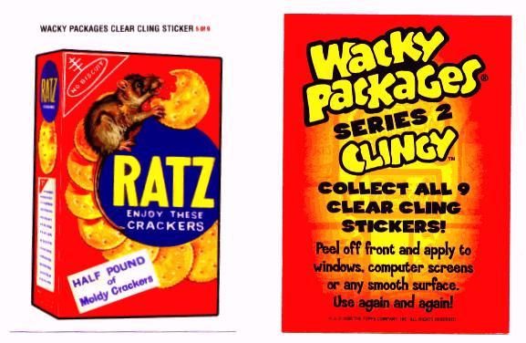 Ratz Crackers Clingy