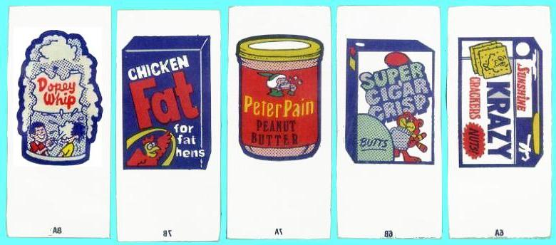 1974 Wacky Packages Tattoos