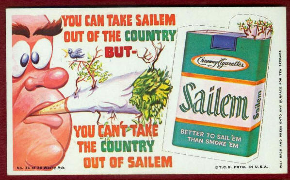 SAILEM CIGARETTES